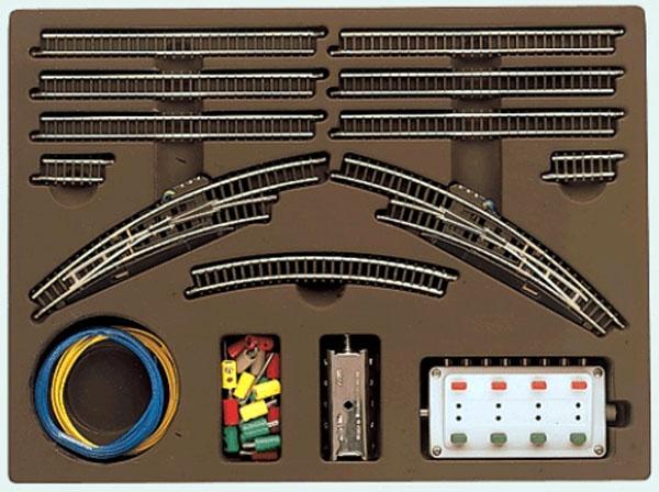 画像1: 鉄道模型 メルクリン Marklin 8193 拡張レールセット T2 線路 Zゲージ