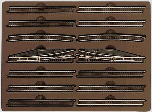 画像1: 鉄道模型 メルクリン Marklin 8190-E 拡張レールセット 線路 Zゲージ