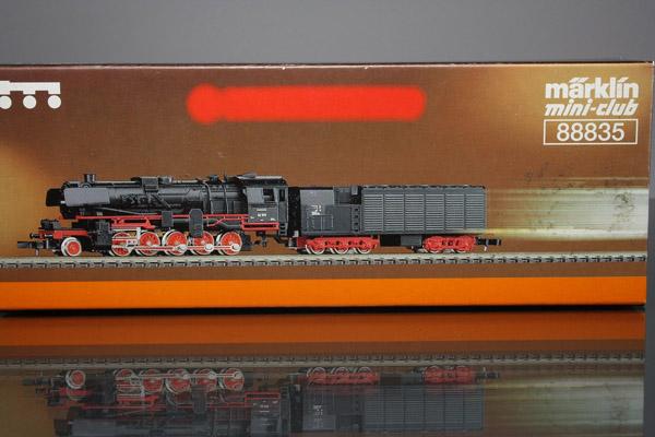 画像1: 鉄道模型 メルクリン Marklin 88835 ミニクラブ mini-club DB BR 52 蒸気機関車 Zゲージ