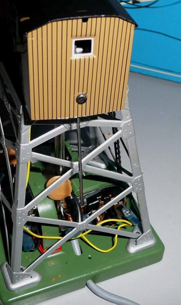 画像2: 鉄道模型 メルクリン Marklin 7051 リモコン式旋回クレーン HOゲージ ストラクチャー