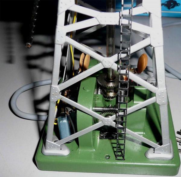 画像3: 鉄道模型 メルクリン Marklin 7051 リモコン式旋回クレーン HOゲージ ストラクチャー