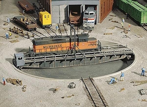 画像1: 鉄道模型 ウォルサーズ Walthers 933-3171 ターンテーブル 転車台 HOゲージ