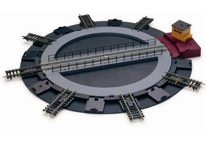 画像1: 鉄道模型 HORNBY ホーンビィ R070 電動ターンテーブル 転車台 OOゲージ
