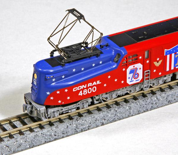 画像2: 鉄道模型 カトー KATO 137-2015 アメリカ ペンシルバニア鉄道 GG1 電気機関車 独立記念塗装 Nゲージ