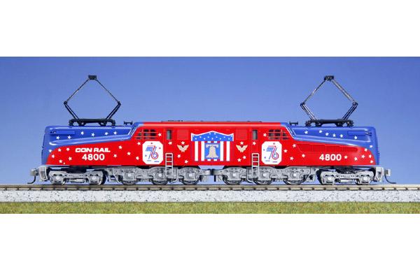 画像1: 鉄道模型 カトー KATO 137-2015 アメリカ ペンシルバニア鉄道 GG1 電気機関車 独立記念塗装 Nゲージ