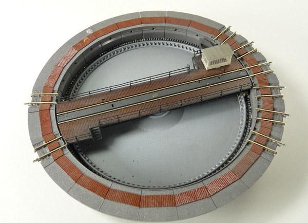 画像1: 鉄道模型 メルクリン Marklin 8998 elektrische Drehscheibe 電動ターンテーブル 転車台 Zゲージ