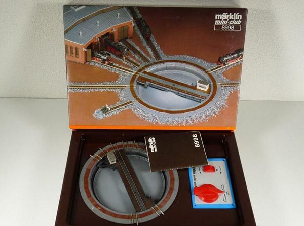 画像4: 鉄道模型 メルクリン Marklin 8998 elektrische Drehscheibe 電動ターンテーブル 転車台 Zゲージ