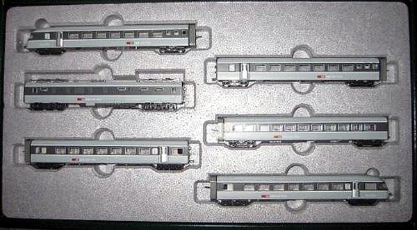 画像1: 鉄道模型 KATO カトー K11401 SBB RABe ユーロシティ 6両セット Nゲージ