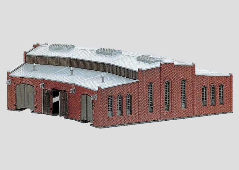 画像1: 鉄道模型 メルクリン Marklin 8983 ミニクラブ mini-club 扇形機関庫 ラウンドハウス Zゲージ