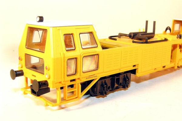 画像2: 鉄道模型 リリプット Liliput 136110 マルチプルタイタンパー 線路保線作業車 HOゲージ