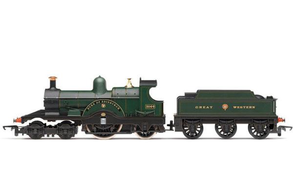 画像1: 鉄道模型 HORNBY ホーンビィ R2828 GWR 4-2-2 DEAN SINGLE LOCO 蒸気機関車 OOゲージ