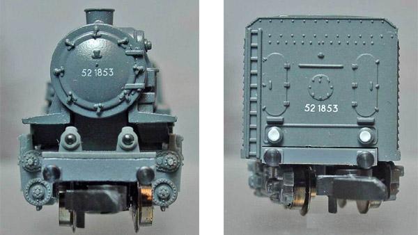 画像2: 鉄道模型 メルクリン Marklin 88836 ミニクラブ mini-club BR52 2-10-0 蒸気機関車 Zゲージ