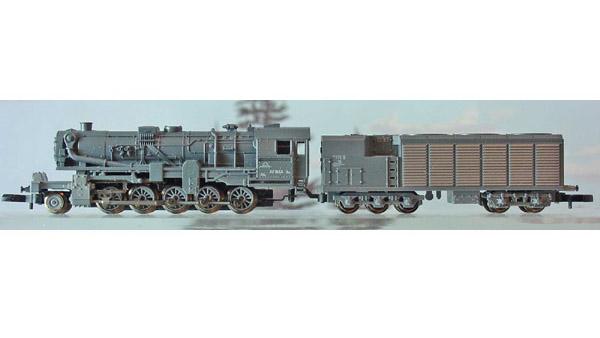 画像1: 鉄道模型 メルクリン Marklin 88836 ミニクラブ mini-club BR52 2-10-0 蒸気機関車 Zゲージ