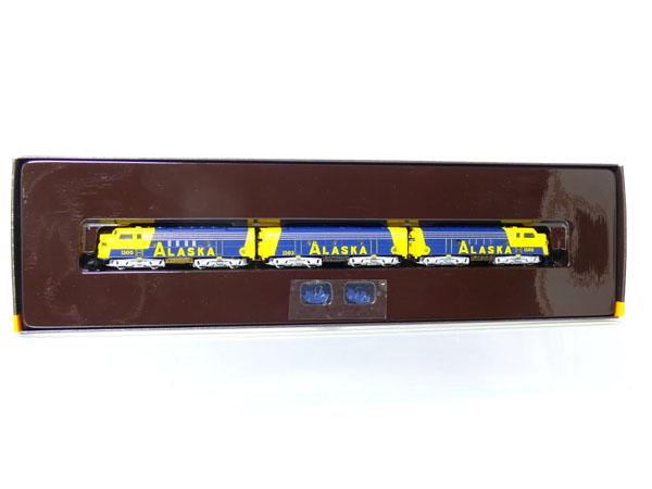 画像2: 鉄道模型 メルクリン Marklin 8819 ミニクラブ mini-club アラスカ鉄道 F7ディーゼル機関車 Zゲージ