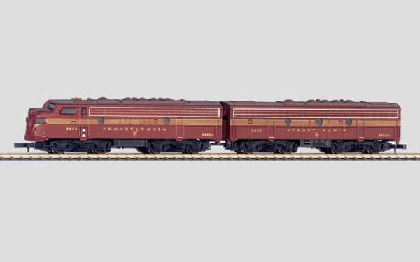 画像1: 鉄道模型 メルクリン Marklin 88605 ペンシルベニア鉄道 ブロードウェイ?リミテッド ディーゼル機関車 Zゲージ