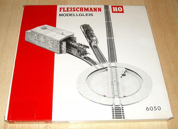 画像1: 鉄道模型 フライシュマン Fleischmann 6050 手動ターンテーブル 転車台 HOゲージ