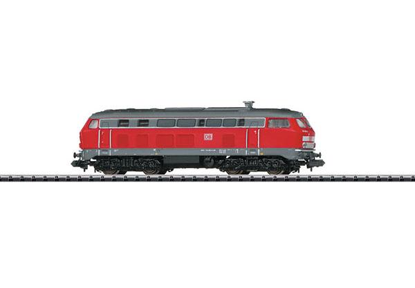 画像1: 鉄道模型 ミニトリックス MINITRIX 12392 DB class 218 赤色 ディーゼル機関車 Nゲージ