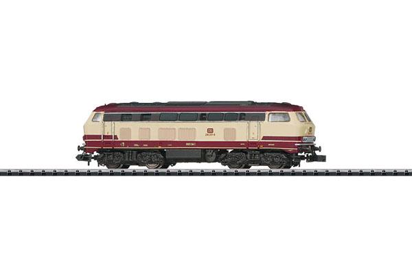 画像1: 鉄道模型 ミニトリックス MINITRIX 12391 DB class 218 TEE色 ディーゼル機関車 Nゲージ
