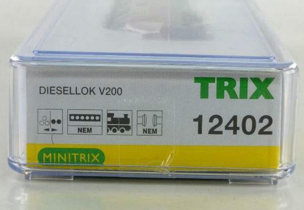 画像4: 鉄道模型 ミニトリックス MINITRIX 12402 BR V200.0 ディーゼル機関車 Nゲージ