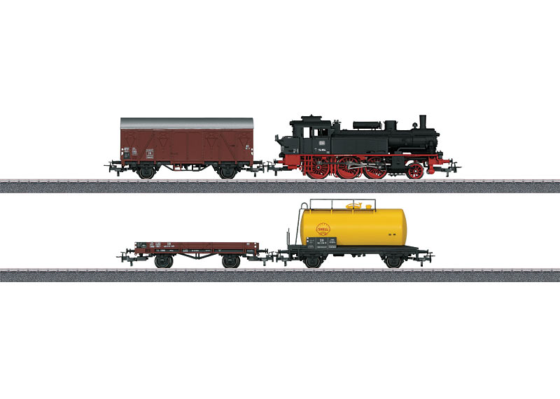 画像1: 鉄道模型 トリックス Trix 21520 DB Class 74 貨物列車スターターセット HOゲージ