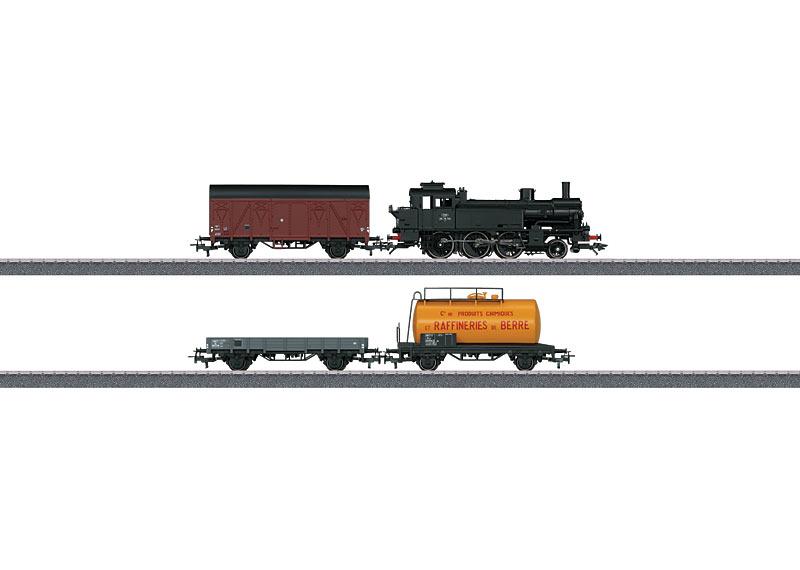画像1: 鉄道模型 トリックス Trix 21521 SNCF Class 130 貨物列車スターターセット HOゲージ