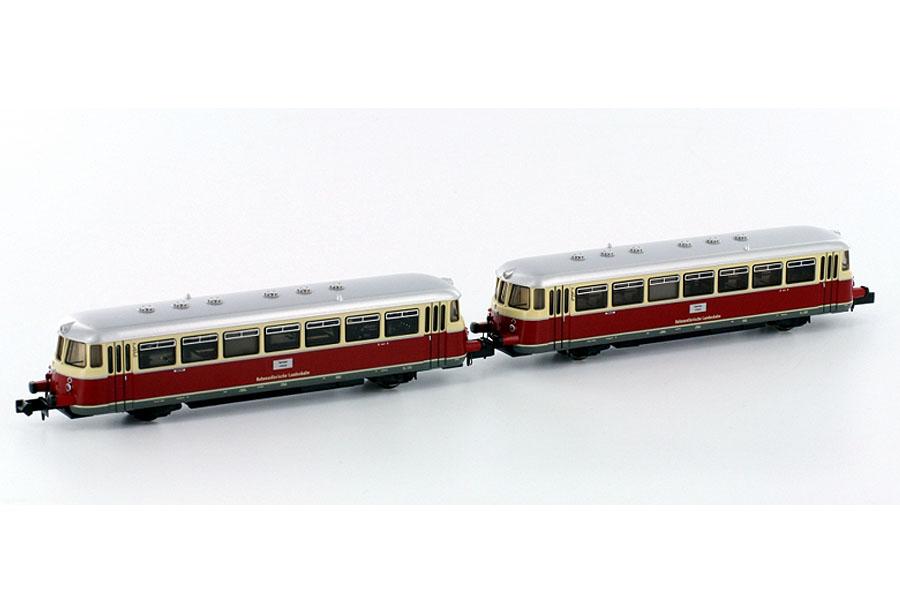 画像1: 鉄道模型 ホビートレイン HobbyTrain 2672 レールバス 2両セット Nゲージ