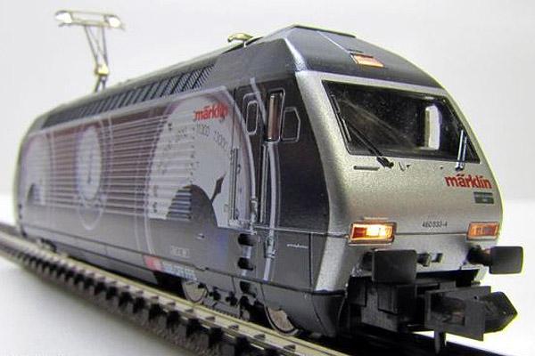 画像2: 鉄道模型 ミニトリックス MiniTrix 12524 SBB Re 460 スイスコレクション 電気機関車 Nゲージ 限定品