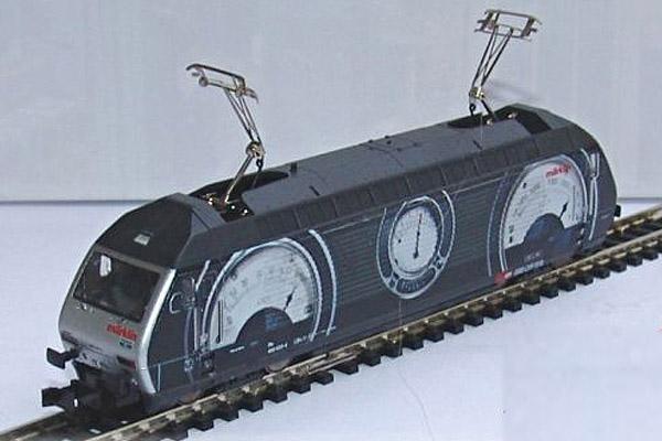 画像1: 鉄道模型 ミニトリックス MiniTrix 12524 SBB Re 460 スイスコレクション 電気機関車 Nゲージ 限定品