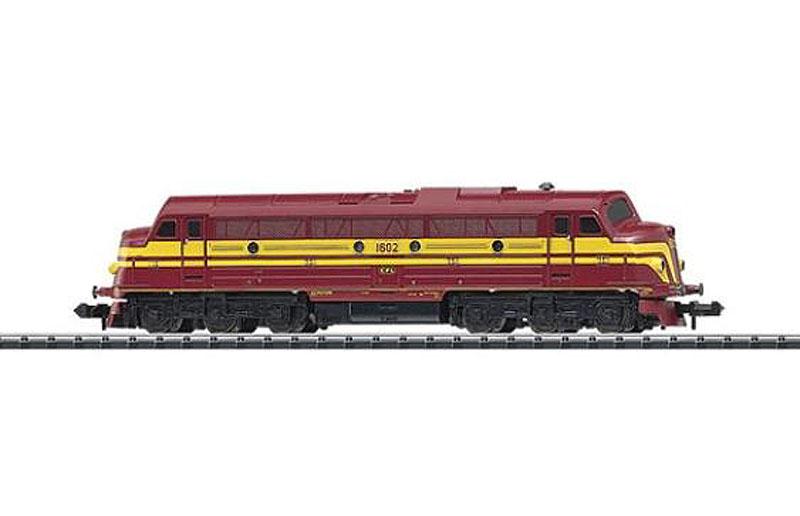 画像1: 鉄道模型 ミニトリックス MINITRIX 12269 CFL 1600 ディーゼル機関車 Nゲージ
