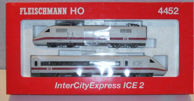 画像2: 鉄道模型 フライシュマン Fleischmann 4452 ICE 2 DB AG. HOゲージ
