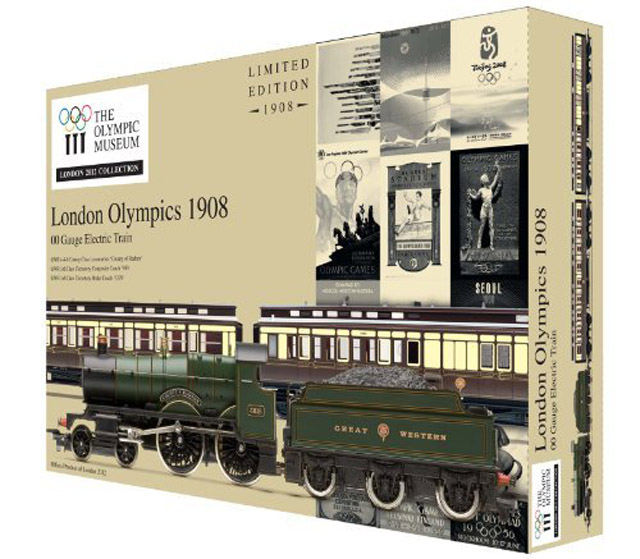 画像1: 鉄道模型 ホーンビィ HORNBY R2980 2012年ロンドンオリンピック記念 限定品 蒸気機関車 OOゲージ