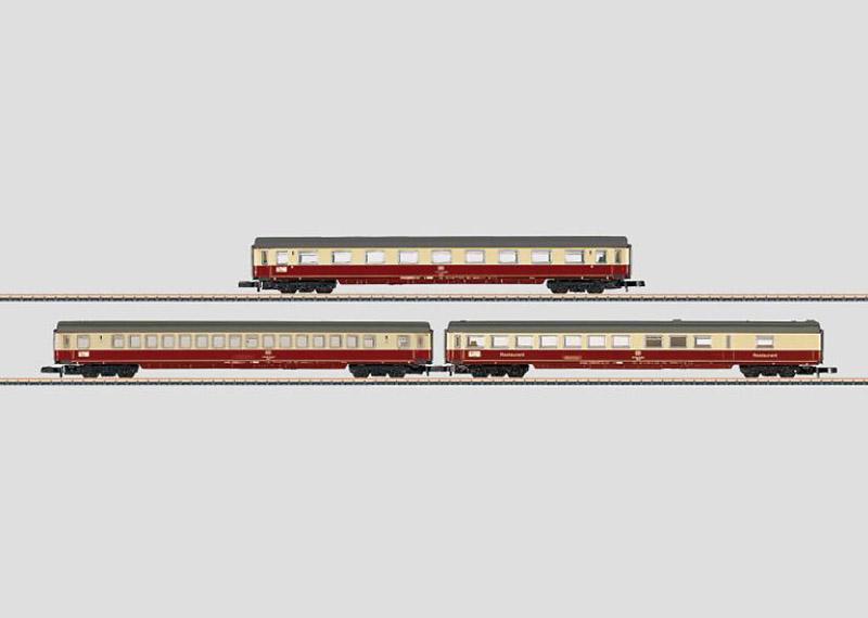 画像1: 鉄道模型 メルクリン Marklin 87281 ミニクラブ mini-club DB IC 客車3両セット Zゲージ