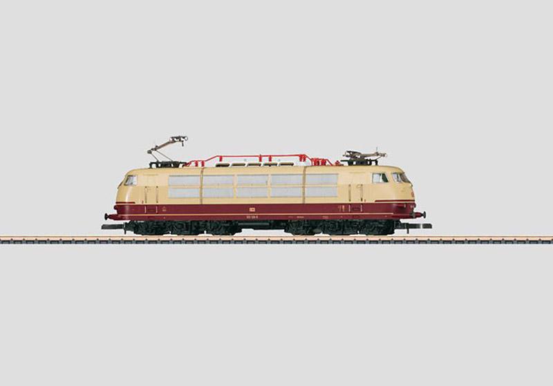 画像1: 鉄道模型 メルクリン Marklin 88543 ミニクラブ mini-club DB BR 103.1 電気機関車 Zゲージ
