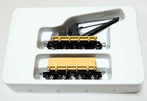 画像1: 鉄道模型 ミニトレインズ MINITRAINS 5120 コッペル・トレイン クレーンカー ゴンドラカー セット 貨車 ナローゲージ HOn30(9mm)