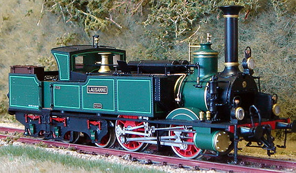 画像1: 鉄道模型 フルグレックス Fulgurex 22313 Swiss SCB Ec2/5 no.34 Lausanne 蒸気機関車 HOゲージ