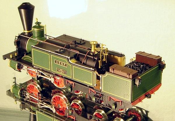 """画像2: 鉄道模型 フルグレックス Fulgurex 22311 Swiss SCB Ec2/5 no.28 """"Genf"""" 蒸気機関車 HOゲージ"""