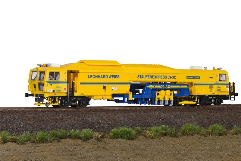 画像1: 鉄道模型 Viessmann 26054 Stopfexpress マルチプルタイタンパー マルタイ 保線作業車 HOゲージ
