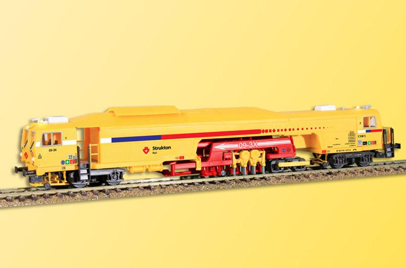 画像1: 鉄道模型 Viessmann 26095 Stopfexpress マルチプルタイタンパー マルタイ 保線作業車 HOゲージ