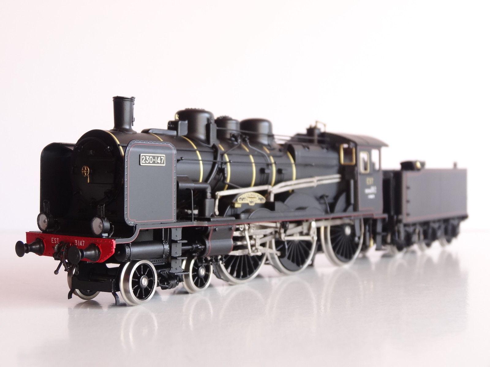 画像1: 鉄道模型 フルグレックス Fulgurex 2229 French EST 230-147 蒸気機関車 HOゲージ