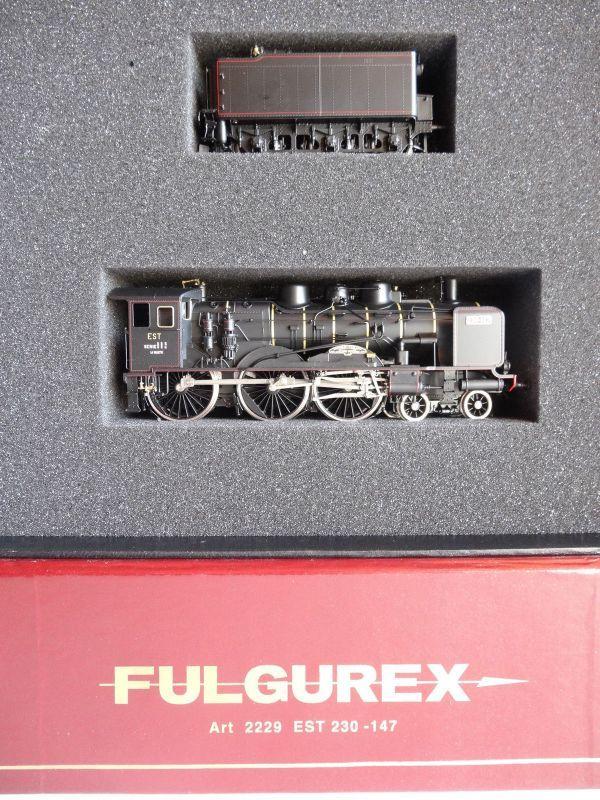 画像5: 鉄道模型 フルグレックス Fulgurex 2229 French EST 230-147 蒸気機関車 HOゲージ