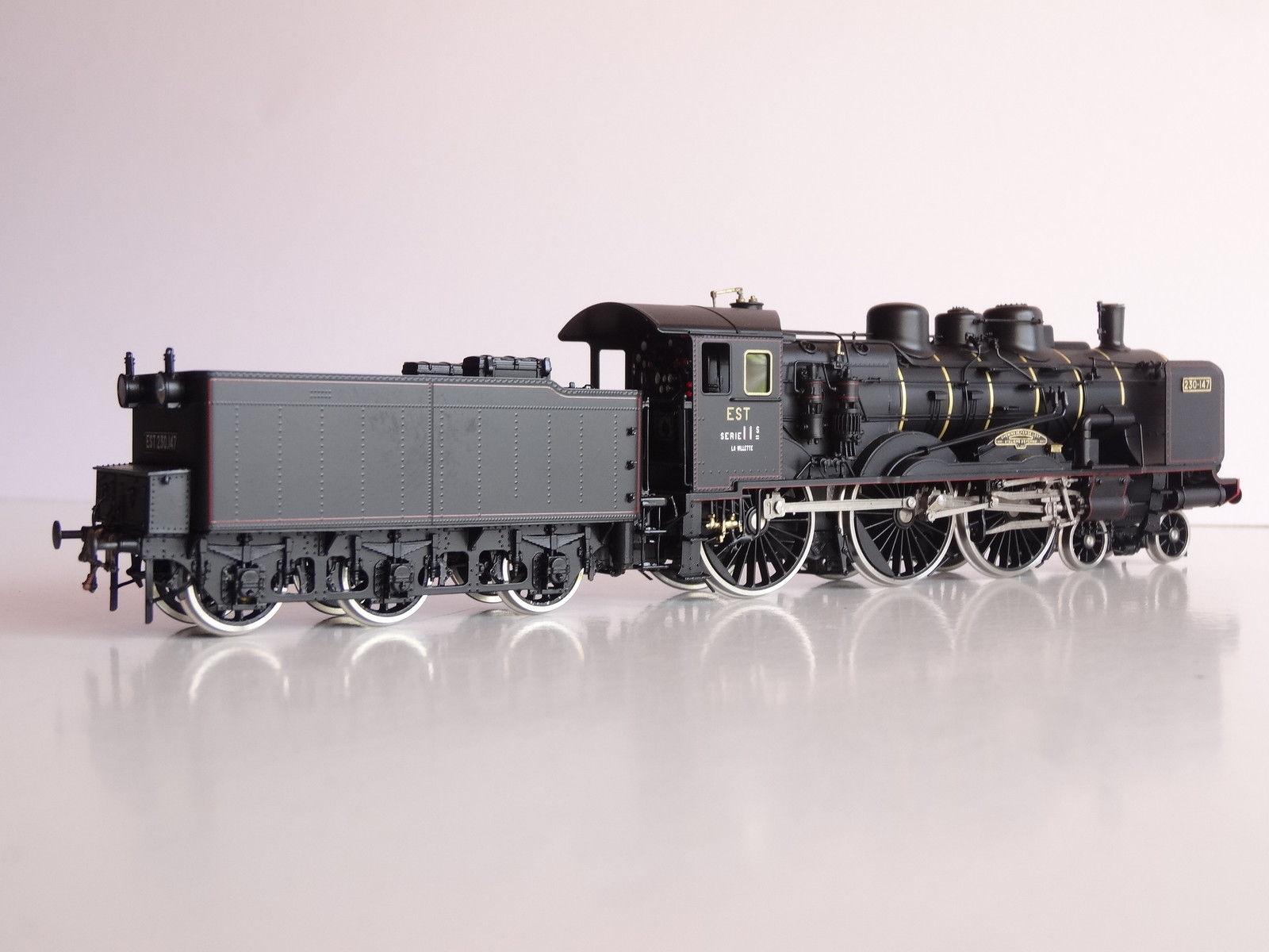 画像2: 鉄道模型 フルグレックス Fulgurex 2229 French EST 230-147 蒸気機関車 HOゲージ