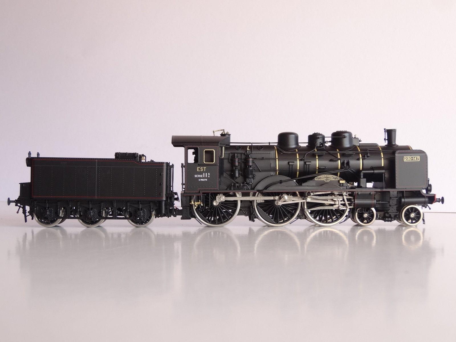 画像3: 鉄道模型 フルグレックス Fulgurex 2229 French EST 230-147 蒸気機関車 HOゲージ