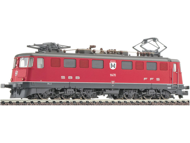 画像1: 鉄道模型 フライシュマン Fleischmann 737208 SBB Ae 6/6 赤塗装 電気機関車 Nゲージ