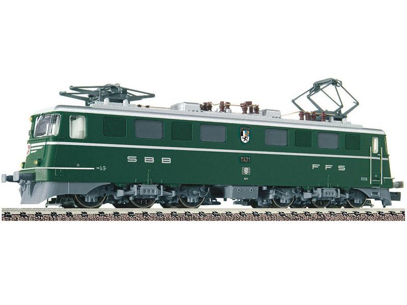 画像1: 鉄道模型 フライシュマン Fleischmann 737207 SBB Ae 6/6 緑塗装 電気機関車 Nゲージ