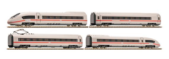 画像1: 鉄道模型 フライシュマン Fleischmann 398001 ICE3 DB AG 電車 4両セット HOゲージ