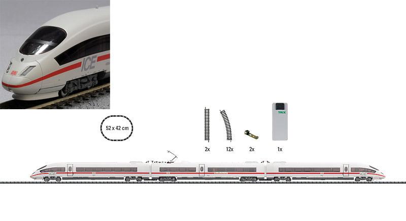 画像1: 鉄道模型 ミニトリックス MINITRIX 11206 DB AG 406 ICE3 スターターセット Nゲージ