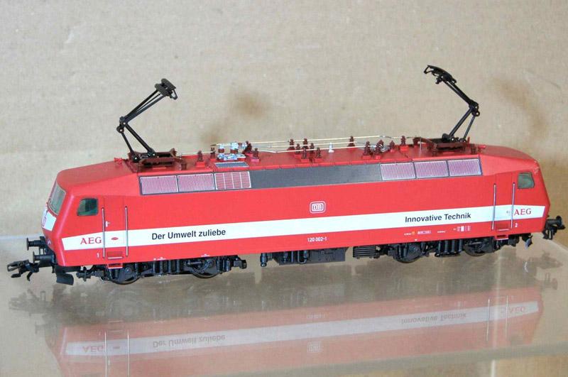 画像1: 鉄道模型 メルクリン Marklin 3454 DB AEG BR 120 電気機関車 HOゲージ