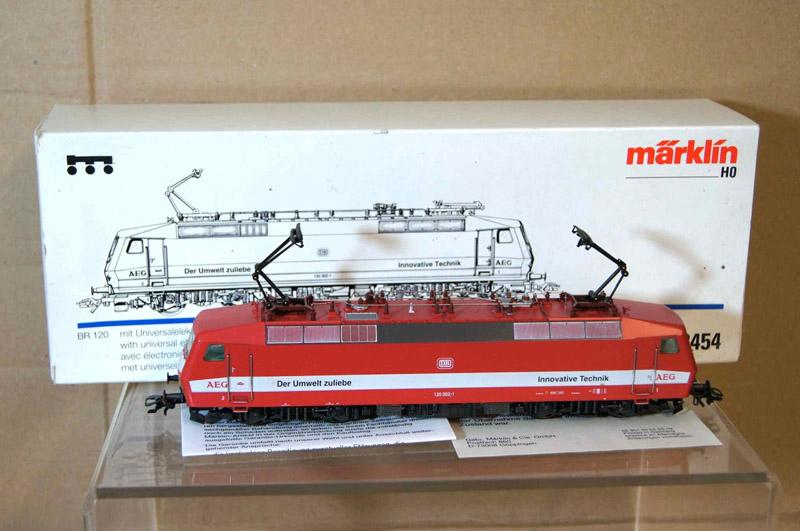 画像3: 鉄道模型 メルクリン Marklin 3454 DB AEG BR 120 電気機関車 HOゲージ