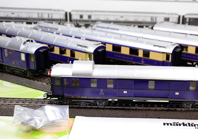 画像2: 鉄道模型 メルクリン Marklin 42283 Express Train ラインゴールド 客車セット HOゲージ