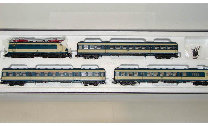 画像2: 鉄道模型 トリックス Trix 21337 カールスルー列車セット HOゲージ